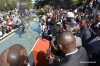 "Reverend Al Sharpton and others rally against ""Stand Your Ground"" in Tallahassee, Florida."