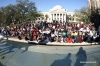 "Hundreds protest ""Stand Your Ground"" in Tallahassee, Florida."