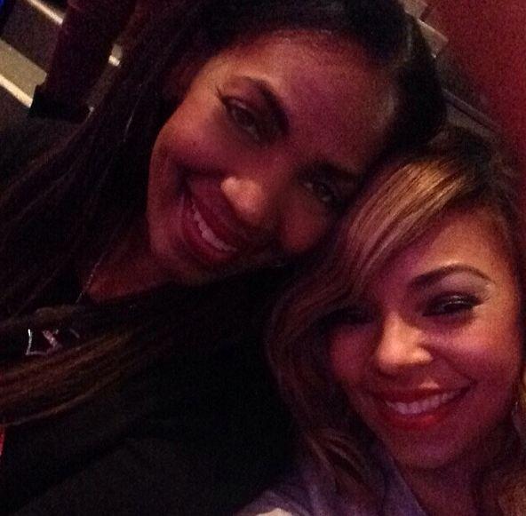 Ashanti and mom