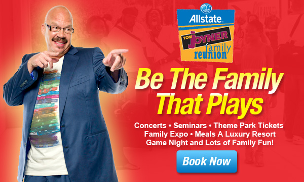 The 2014 Allstate Tom Joyner Family Reunion is August 28- September 1, 2014 in Orlando, Florida! For booking information, call 407-248-9191.