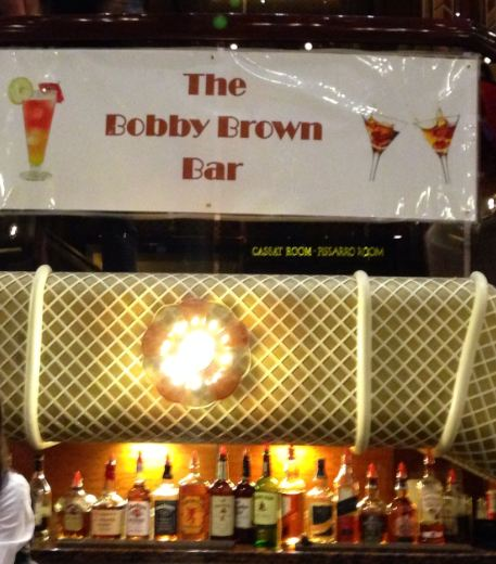 The Bobby Brown Bar! It's a real thing!