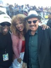 Kym Whitley and Tom Joyner