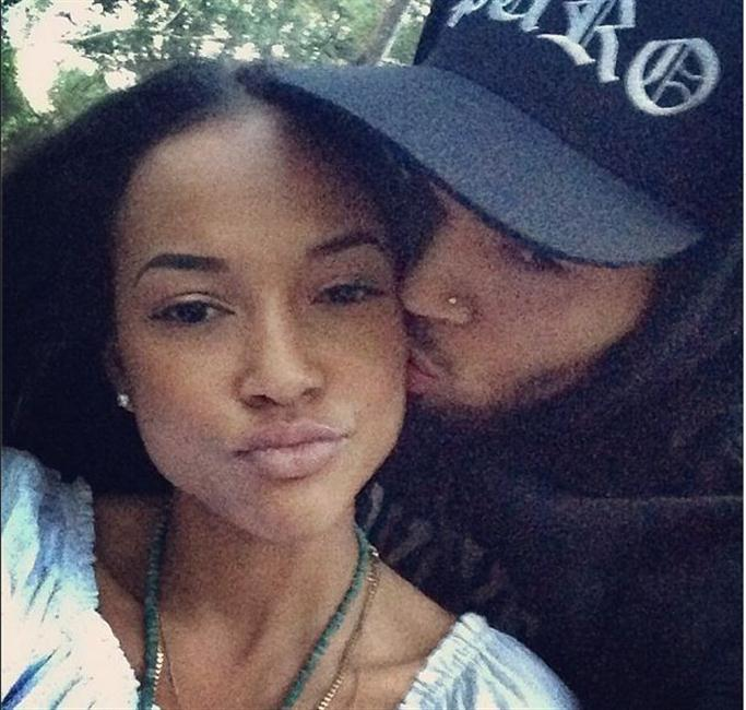 Karrueche and Chris Brown