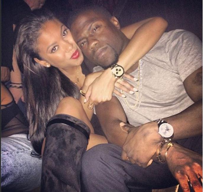 Kevin Hart and Eniko