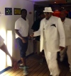 Bobby Brown in all white!