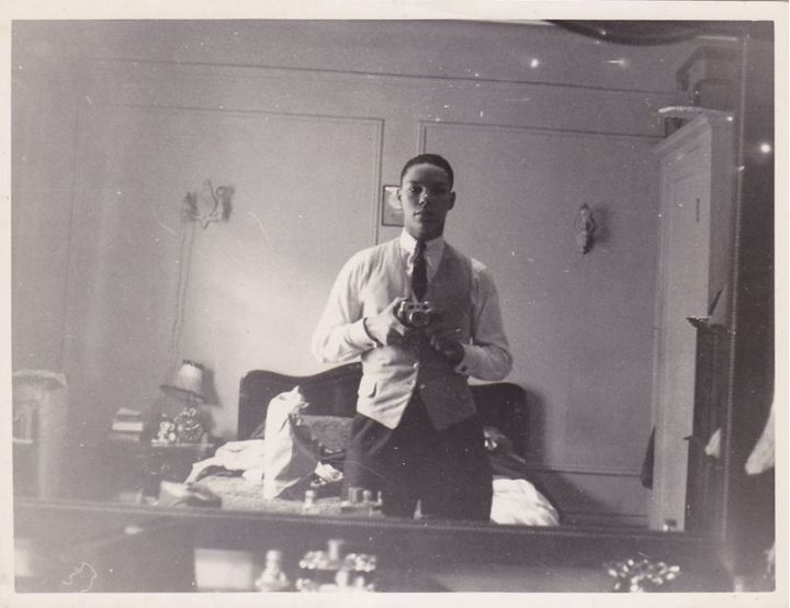 Colin Powell's throwback selfie