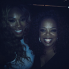 Serena Williams and Oprah Winfrey