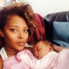 Eva Marcille and daughter