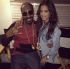 Snoop Dogg and Rocsi Diaz