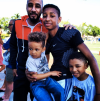 Swizz Beatz and his sons