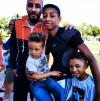 Swizz Beatz and his sons