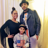 Carmelo Anthony, Lala Anthony and son