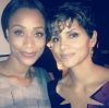 Tami Roman and Halle Berry