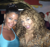 Claudia Jordan and Kym Whitley