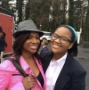 Kandi Burruss and her daughter Riley