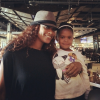 Tami Roman with The Game's daughter, Cali