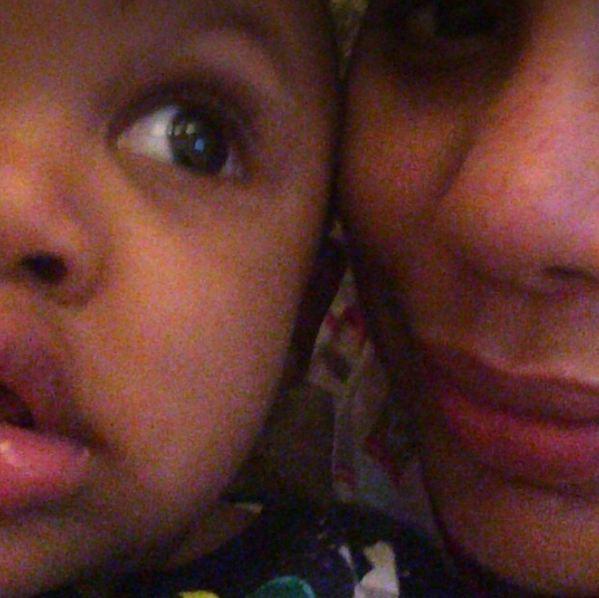 Tamar Braxton and son Logan