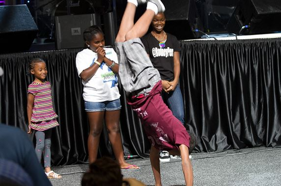 The Allstate Tom Joyner Family Reunion guests had a ball!