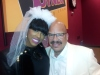 Tom Joyner and Porsha Williams