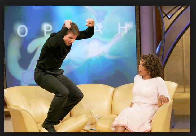 Tom Cruise – Oprah Winfrey