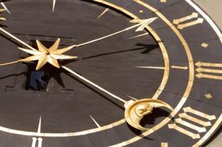 Astrology clock image
