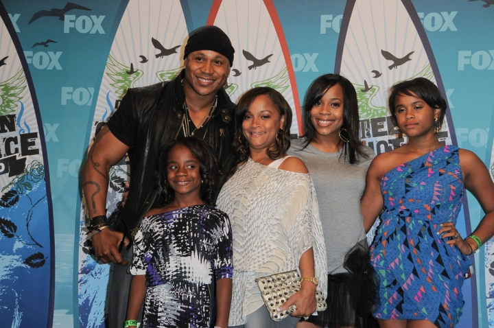 The Coolest: LL Cool J and his family