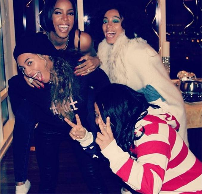 Beyonce, Kelly Rowland, Solange Knowles