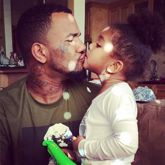 The Game is a single father to daughter Cali