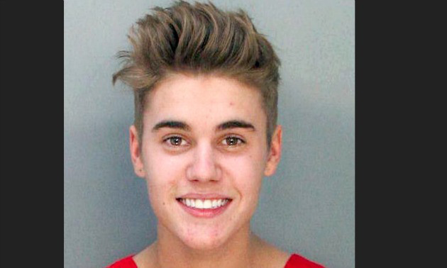 Justin Bieber has had some trouble with the law in the past for marijuana possession, drag racing and a number of other crimes.