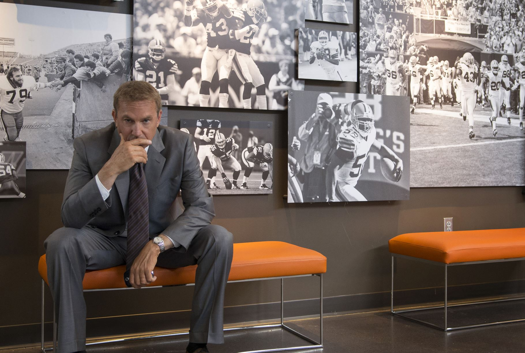 Movie still of Kevin Costner in Draft Day