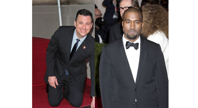 Jimmy Kimmel vs. Kanye West