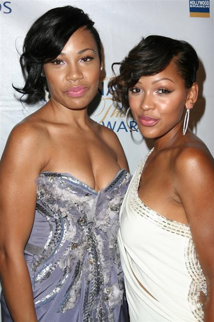 Meagan Good-Franklin and Lamiya Good