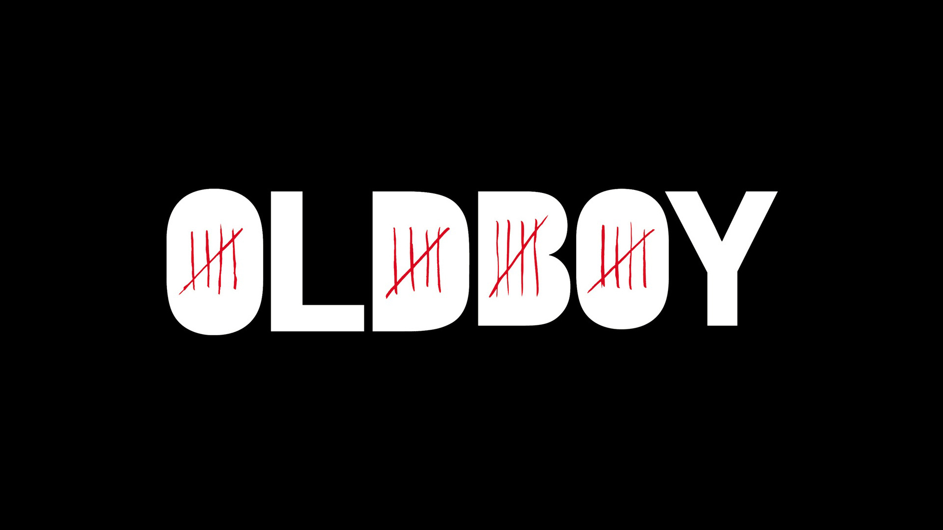 A movie promo image for Oldboy