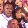 Kevin Hart with his girlfriend and kids