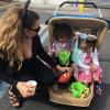Mariah Carey with her kids