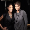 Rocsi Diaz and Halle Berry