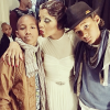 Toni Braxton with her sons
