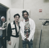 Johnny Depp and Wiz Khalifa
