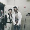 Johnny Depp and Wiz Khalifa