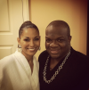 Salli Richardson and Derek J
