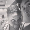Janelle Monae and her mom