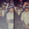 LeBron James and Victor Cruz