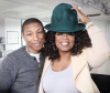 Pharrell Williams and Oprah Winfrey