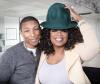 Pharrell Williams and Oprah Winfrey