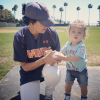 Tamera Mowry-Housley and her son