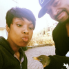 Jennifer Hudson with her husband