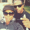 Tasha Smith with her husband