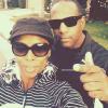 Tasha Smith with her husband