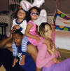 Nick Cannon, Mariah Carey, and their twins