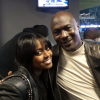 Keshia Knight Pulliam and Michael Jordan